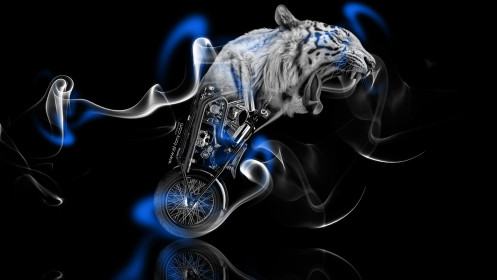 Fantasy-Moto-Tiger-Smoke-Bike-2014-Blue-Neon-HD-Wallpapers-design-by-Tony-Kokhan-[www.el-tony.com]
