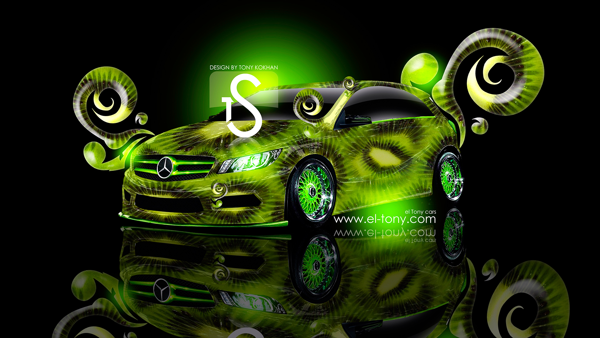 Superbe Merscedes Kiwi Car 2013 HD Wallpapers Design By  ...