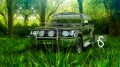 Mitsubishi-Pajero-Jeep-Crystal-Car-2013-HD-Wallpapers-design-by-Tony-Kokhan-[www.el-tony.com]