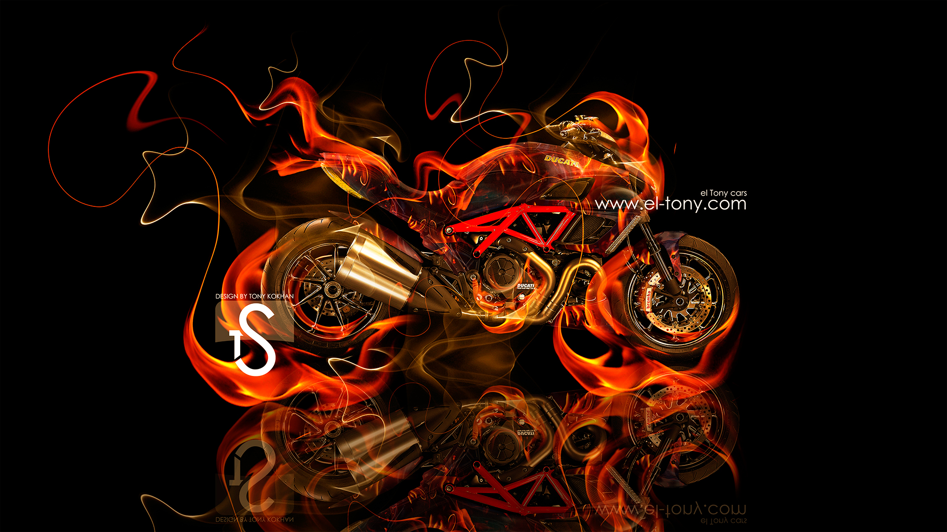 ducati diavel tiger fire - photo #1
