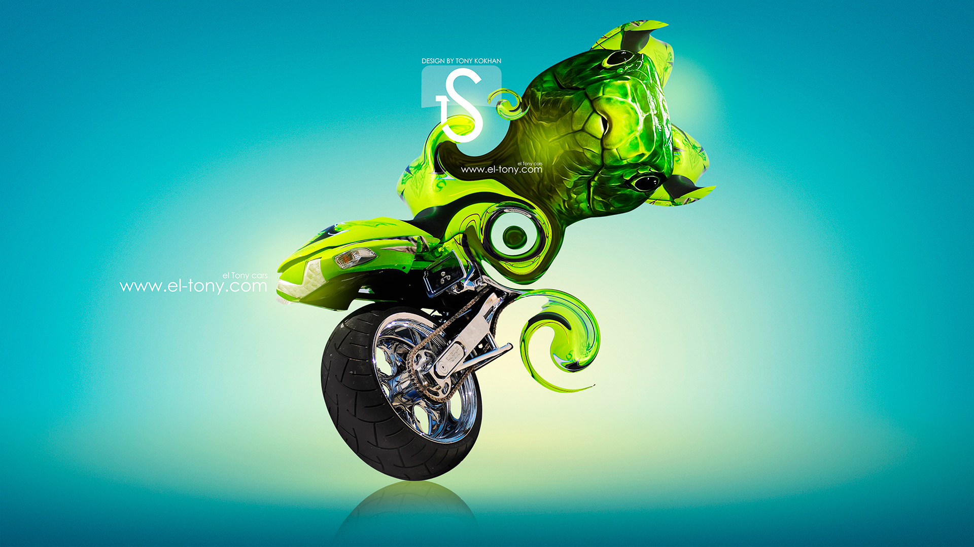 Superior ... Moto Green Snake Fantasy Plastic 2013 HD Wallpapers  ...