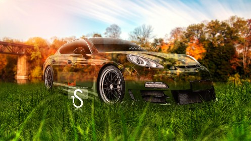 Porsche-Panamera-Crystal-Car-Nature-Autumn-2013-HD-Wallpapers-by-Tony-Kokhan-[www.el-tony.com]
