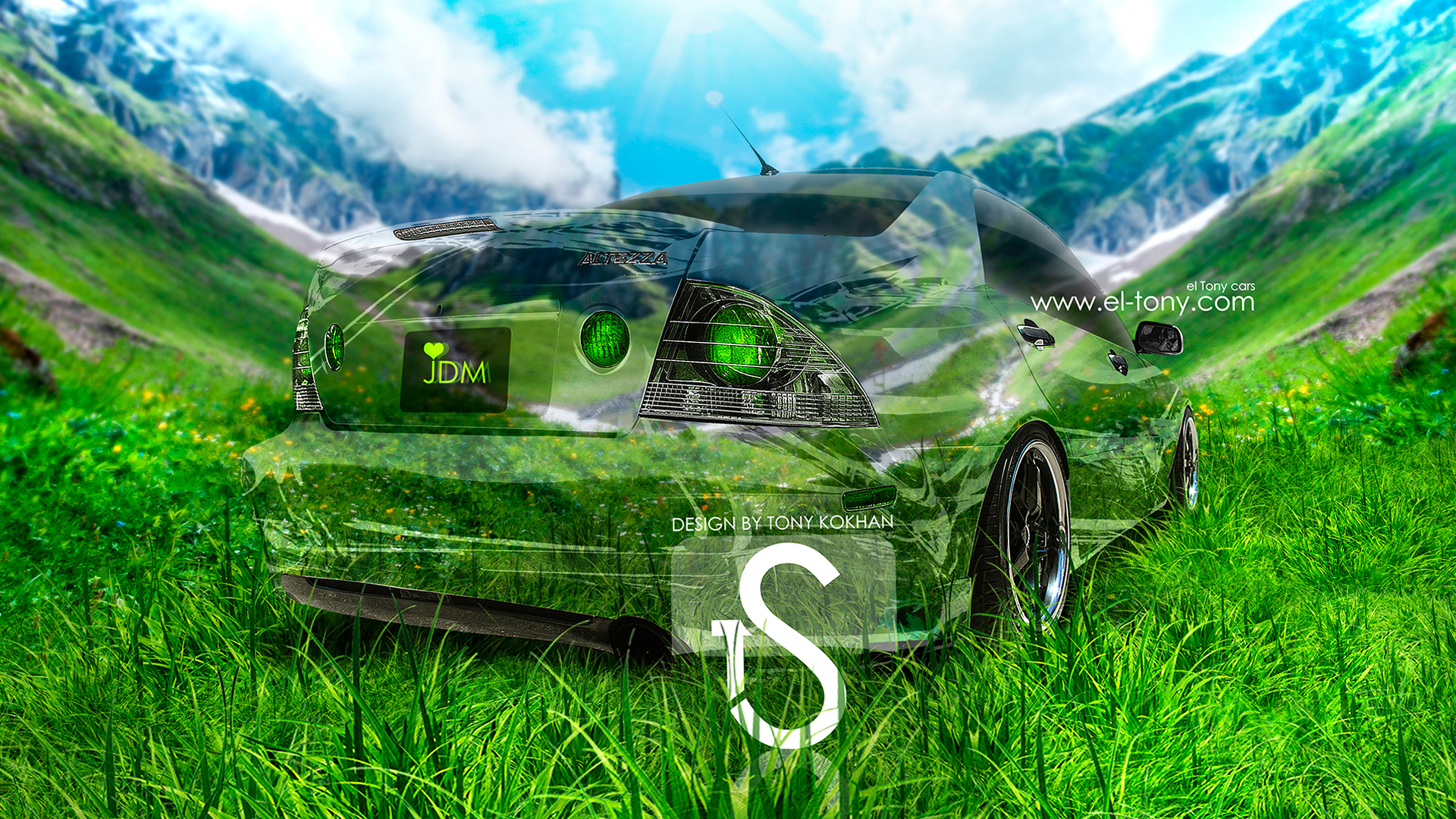 Superior Toyota Altezza Crystal Car Love JDM 2013 Nature