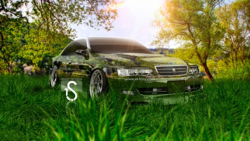 Toyota-Chaser-JZX100-Crystal-Car-JDM-2013-HD-Wallpapers-design-by-Tony-Kokhan-[www.el-tony.com]