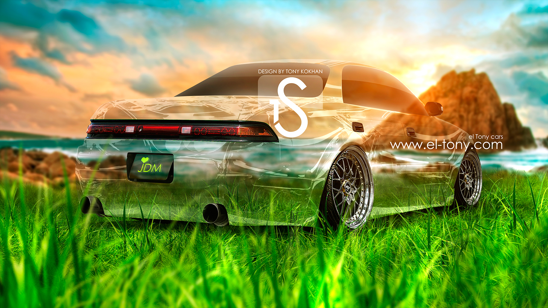 Toyota Mark 2 JZX90 Crystal Car Love JDM  2013 Nature Sunset HD Wallpapers By Tony Kokhan [www.el Tony.com]