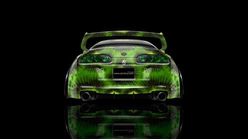 Toyota-Supra-JDM-Back-Kiwi-Aerography-Car-2014-Photoshop-HD-Wallpapers-design-by-Tony-Kokhan-www.el-tony.com_