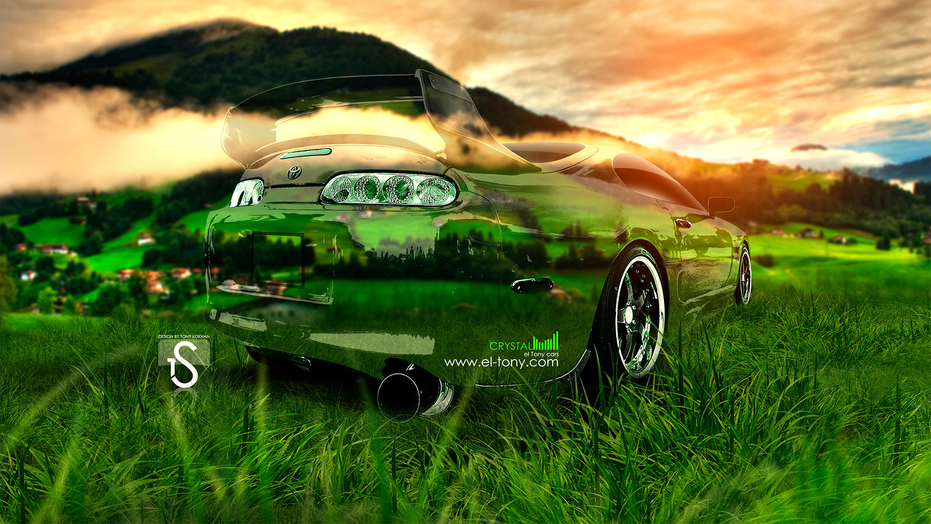 Toyota Supra Crystal Nature Car 2013 | El Tony