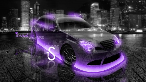 Toyota-Verossa-JZX110-Crystal-City-Car-2013-Violet-Neon-HD-Wallpapers-by-Tony-Kokhan-[www.el-tony.com]