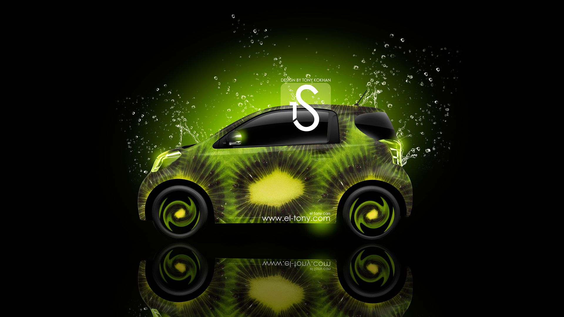 Charmant ... Toyota IQ Kiwi Car 2013 HD Wallpapers Design