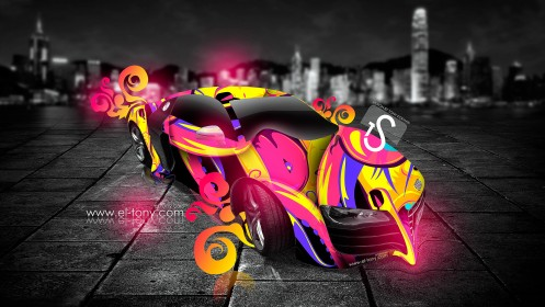 Audi-R8-Fantasy-Plastic-City-Car-2013-Multicolors-design-by-Tony-Kokhan-[www.el-tony.com]