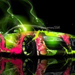 Audi R8 Super Abstract Car 2013