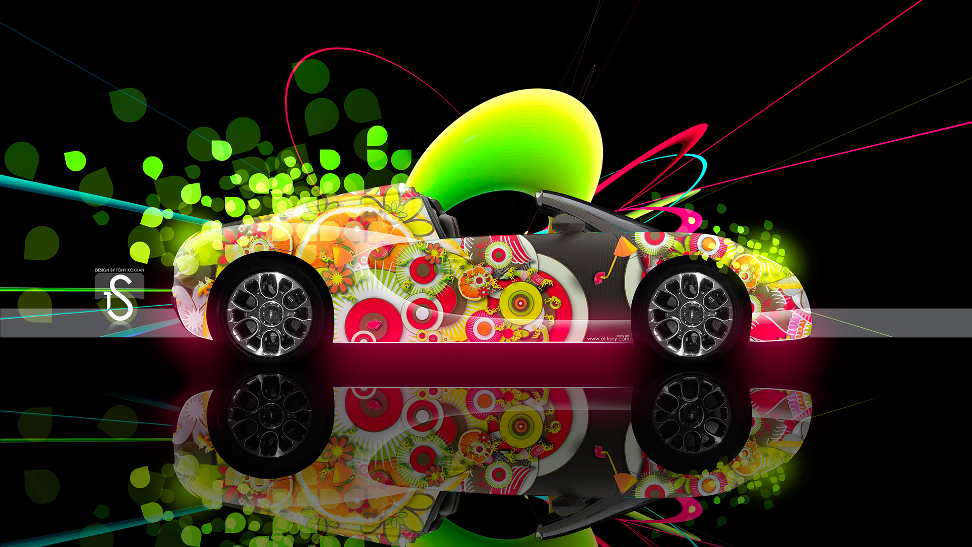 Captivating Bugatti Veyron Super Abstract Car 2013 HD Wallpapers