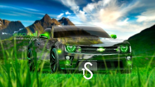Chevrolet-Camaro-Crystal-Car-2013-Muscle-HD-Wallpapers-design-by-Tony-Kokhan-[www.el-tony.com]