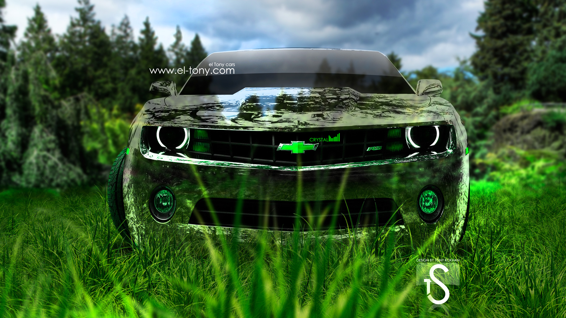 Wonderful ... Chevrolet Camaro Crystal Nature Car 2013 Front HD