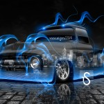Ford F100 Fire Crystal Car 2013