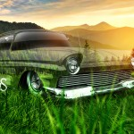 Ford Ranchero Retro Crystal Nature Car 2013