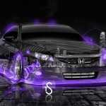 Honda Civic SI JDM Fire Crystal Car 2013