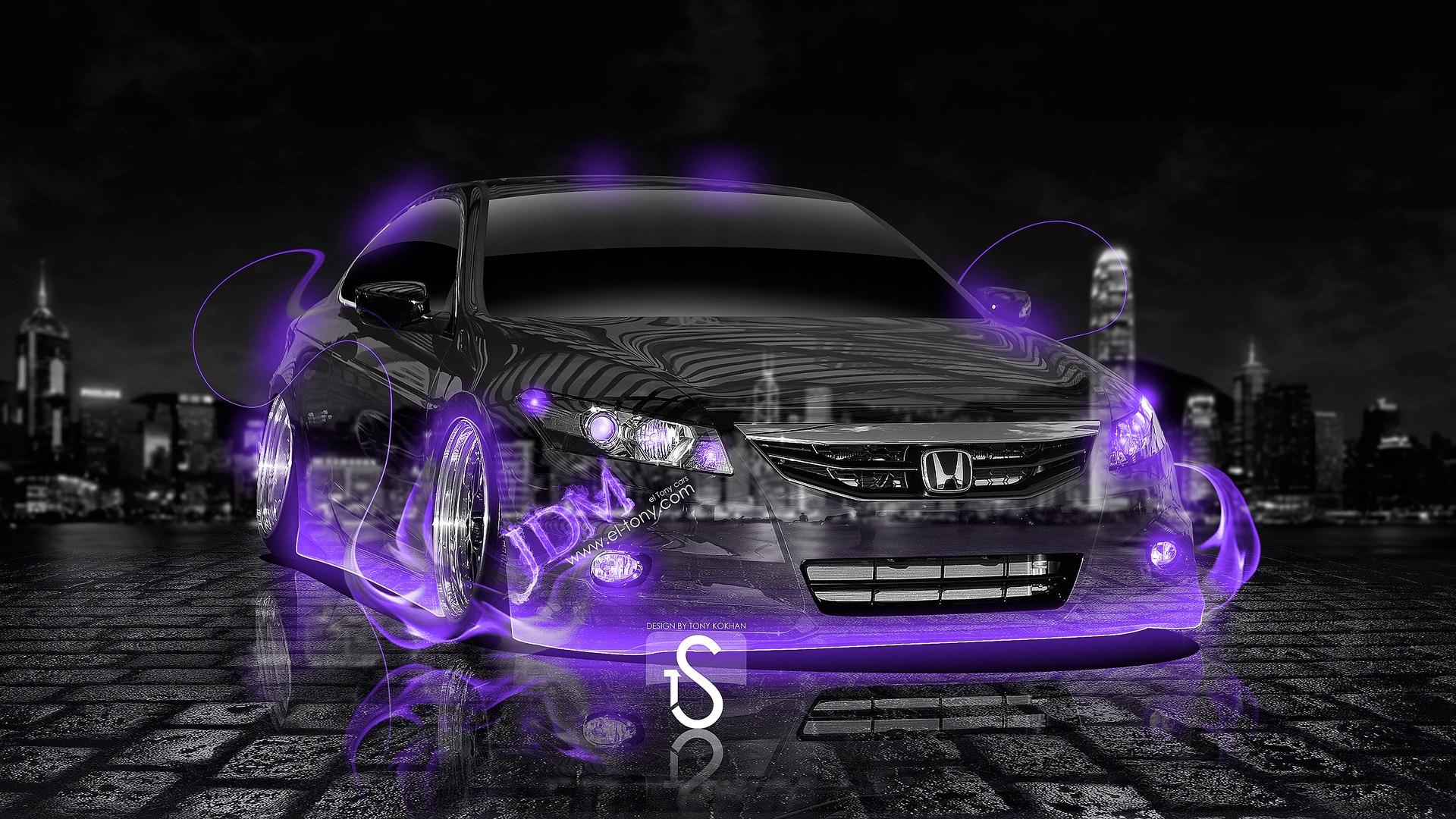 Honda Civic SI Coupe JDM Violet Fire Crystal