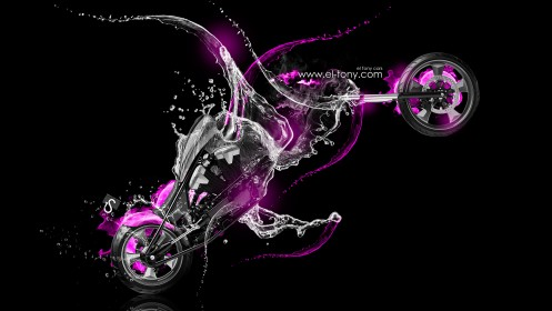 Honda-Furious-Pink-Water-Moto-Monster-2013-HD-Wallpapers-design-by-Tony-Kokhan-[www.el-tony.com]