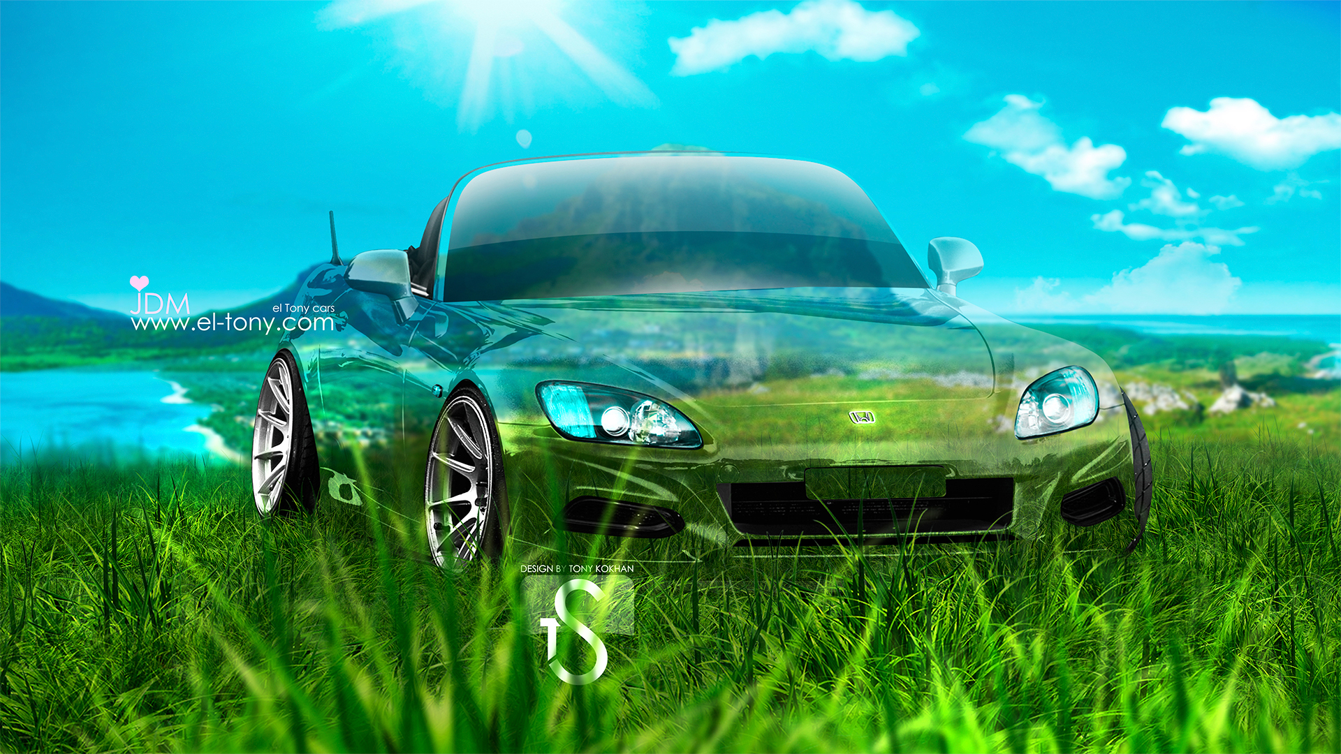 Attrayant Honda S2000 JDM Crystal Nature Car 2013 HD