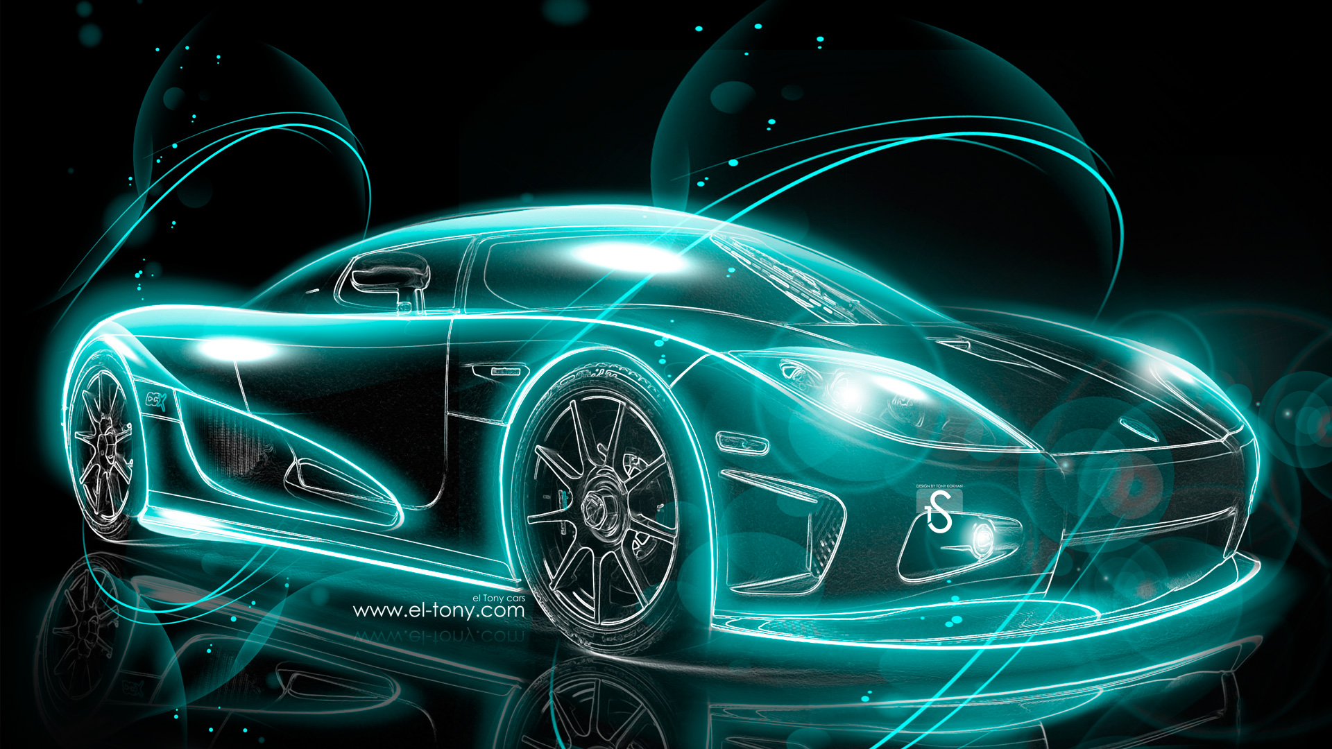 Koenigsegg-CCX-Turquoiset-Super-Abstract-Car-2013-HD-Wallpapers-design-by-Tony-Kokhan-[www.el-tony.com]