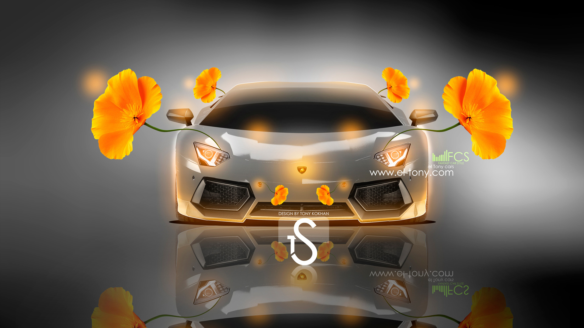Captivating Merveilleux Lamborghini Aventador Fantasy Flowers 2013