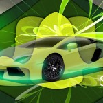 Lamborghini Aventador Super Abstract Car 2013