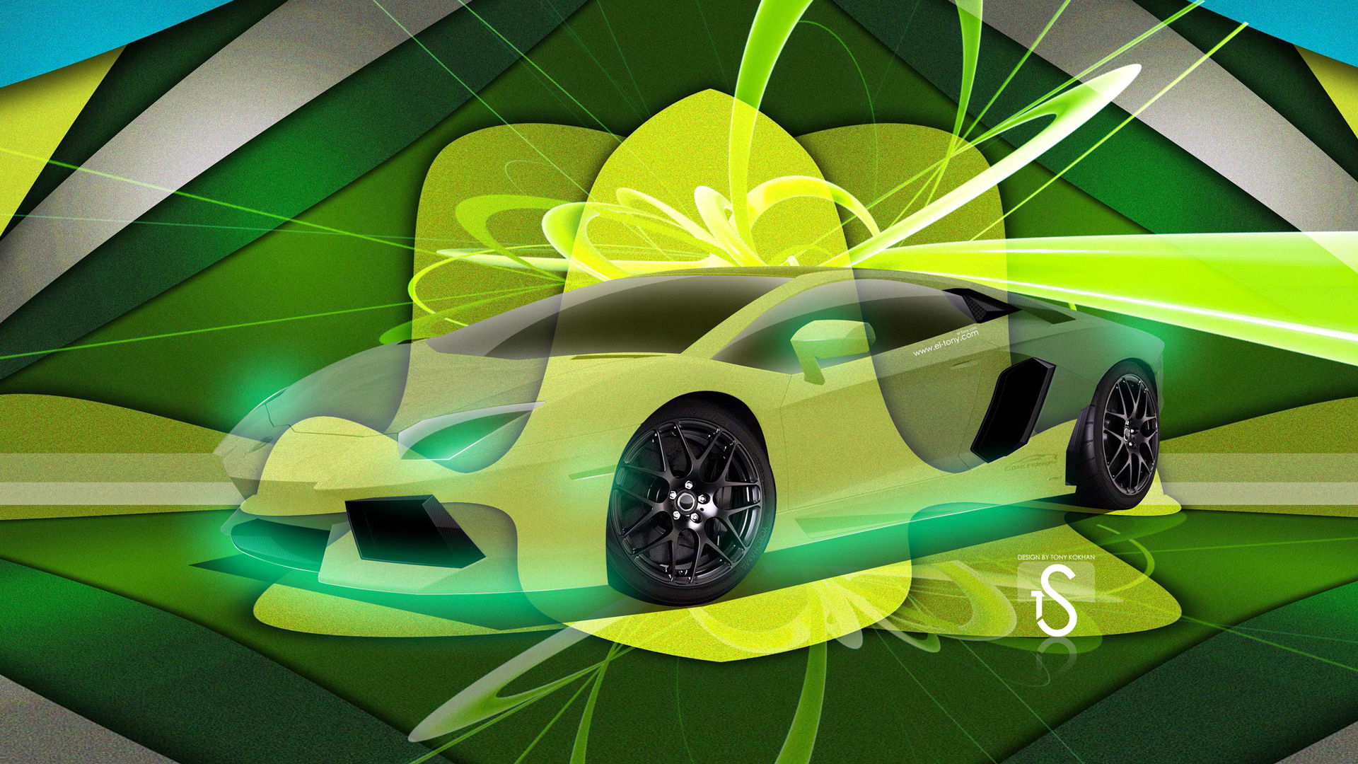 Exceptionnel Lamborghini Aventador Super Abstract Car 2013 Design By