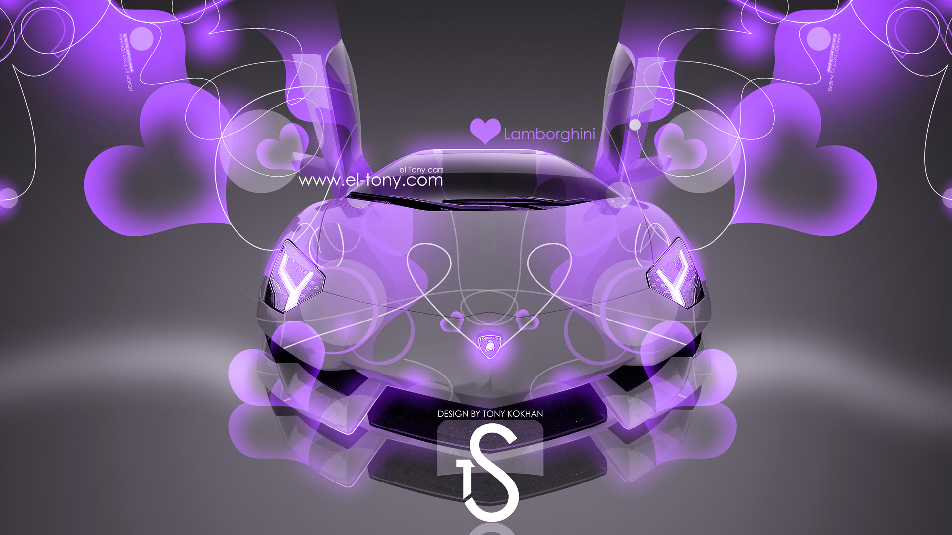 Lamborghini Aventador Violet Abstract Effects 2013 HD Wallpapers  ...