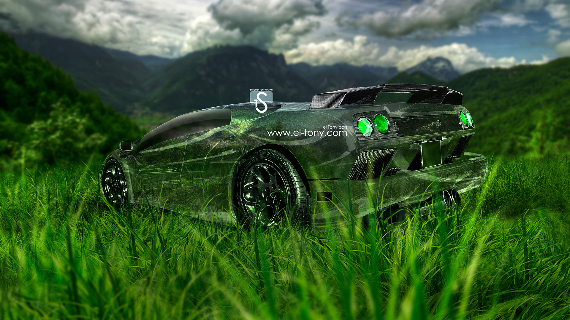 Bon Lamborghini Diablo VT Crystal Nature Car 2013