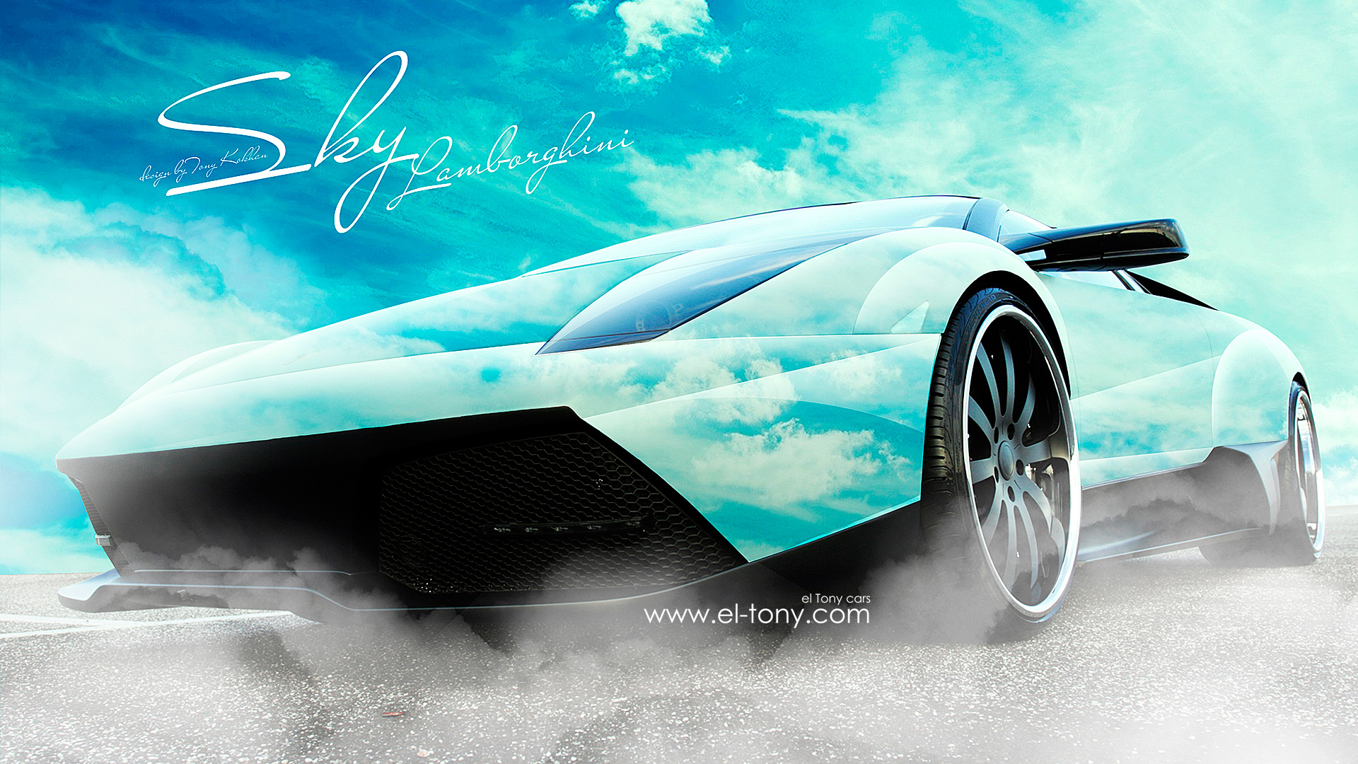 pin murcielago sky blue cars hd wallpaper with 2560x1920