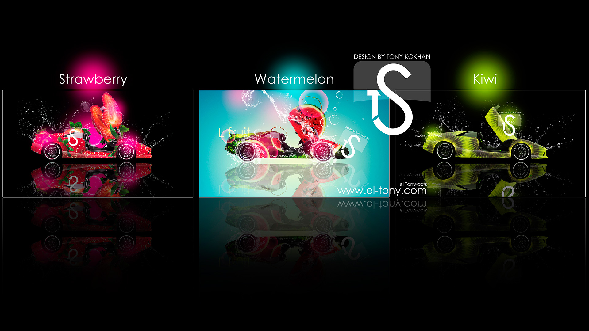 ... Lamborghini Murcielago Strawberry Kiwi Watermelon Fruit Car 2013