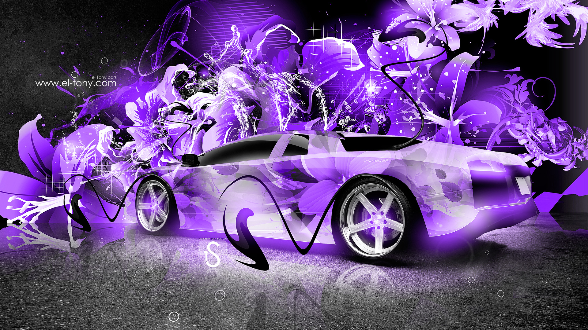 Gentil ... Lamborghini Murcielago Super Abstract Car 2013 Violet HD