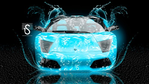Lamborghini-Murcielago-Top-Water-Car-2013-HD-Wallpapers-design-by-Tony-Kokhan-[www.el-tony.com]