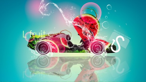 Lamborghini-Murcielago-Watermelon-Fruit-Car-2013-HD-Wallpapers-design-by-Tony-Kokhan-[www.el-tony.com]