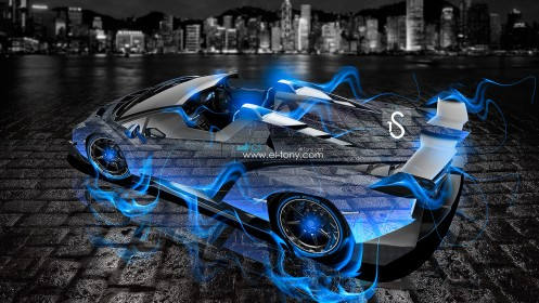 Lamborghini-Veneno-Roadster-Blue-Fire-City-Crystal-Car-2013-HD-Wallpapers-by-Tony-Kokhan-[www.el-tony.com]