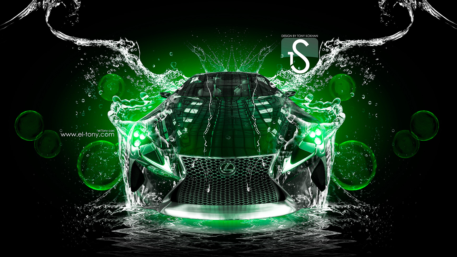 Lexus Lf Lc Water Car 2013 El Tony