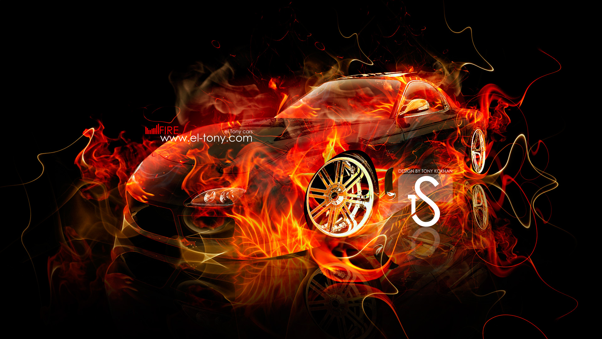 ... Mazda RX7 JDM Fire Car 2013 Abstract HD  ...