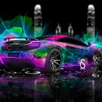 Ordinaire Mercedes Benz F700 Fantasy Nixie Car 2014 · McLaren MP4 12C Abstract  Flowers 2013