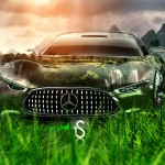 Mercedes Benz Vision Gran Turismo Crystal Car 2013