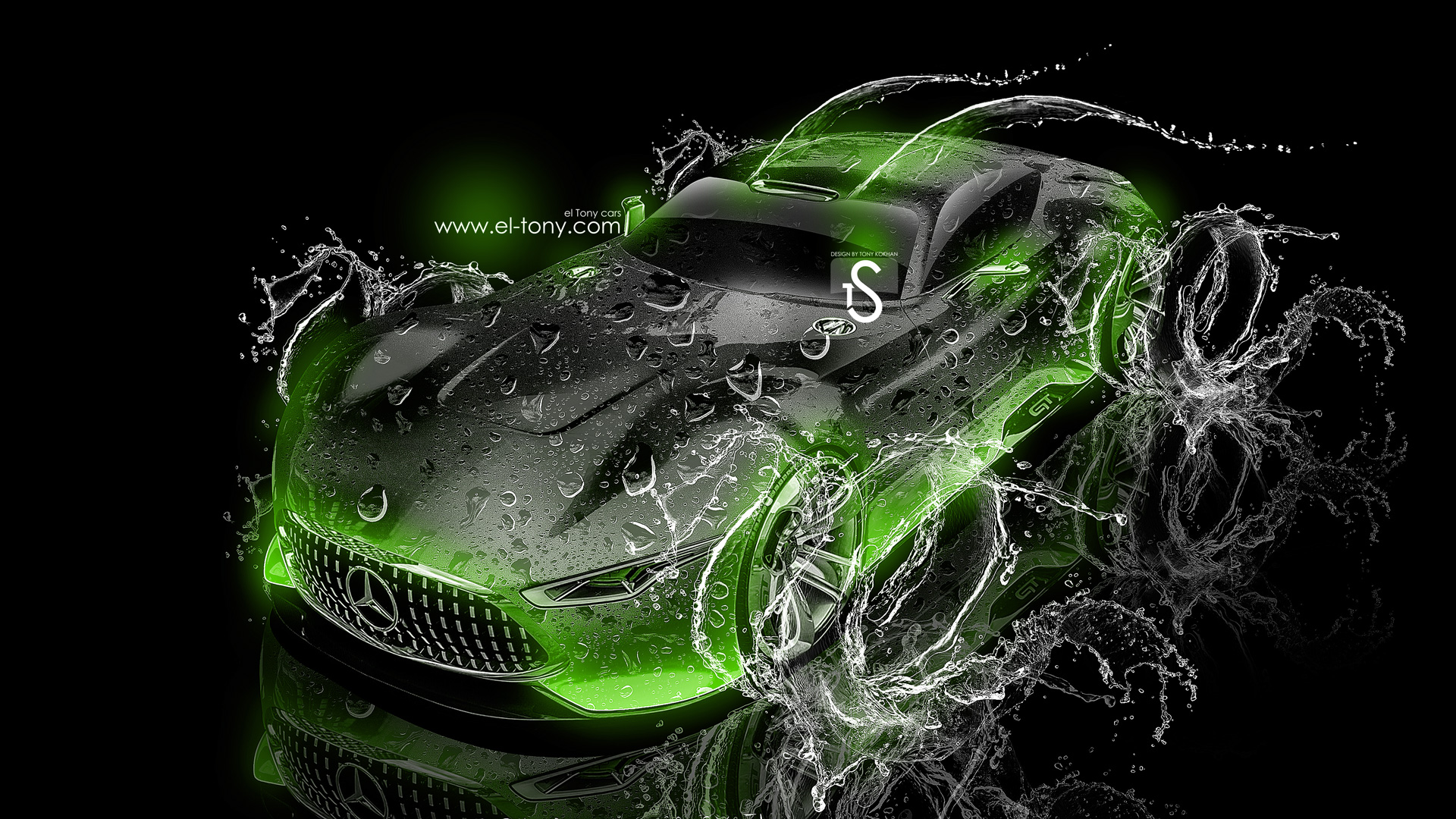 Mercedes Benz Vision Gran Turismo V2 Water Car 2013 El Tony