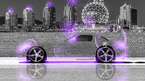 Mercedes-SLS-AMG-Crystal-City-Car-Violet-Neon-2013-design-by-Tony-Kokhan-[www.el-tony.com]