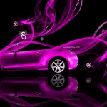 Mitsubishi Eclipse Abstract Smoke Rims 2013