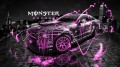 Monster-Energy-Ford-Mustang-GT-Fantasy-Pink-Acid-2013-design-by-Tony-Kokhan-[www.el-tony.com]