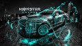 Monster-Energy-Ford-Mustang-GT-Fantasy-Turquoise-Acid-2013-design-by-Tony-Kokhan-[www.el-tony.com]