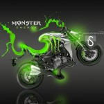 Monster Energy Kawasaki Z1000 Fantasy Acid 2013