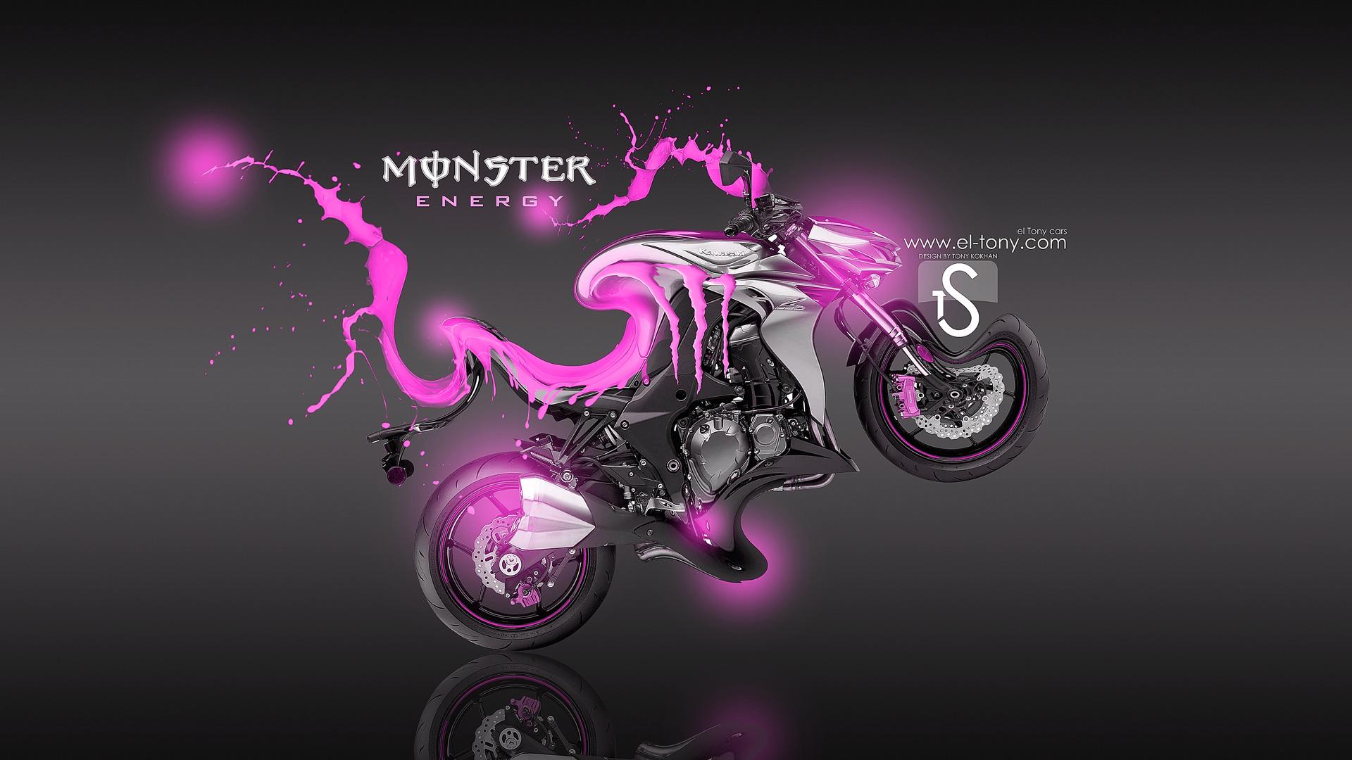 Monster Energy Kawasaki Z1000 Fantasy Acid 2013 El Tony