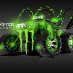 Monster Energy Traxxas Summit Fantasy Acid Car 2013