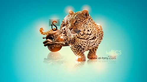 Moto-Chopper-Fantasy-Leopard-2013-HD-Wallpapers-design-by-Tony-Kokhan-[www.el-tony.com]