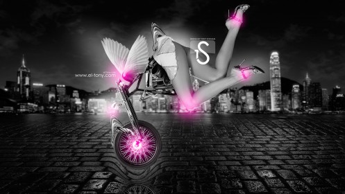 Moto-Fantasy-Sexy-Girl-On-Head-2013-Pink-Neon-HD-Wallpapers-design-by-Tony-Kokhan-[www.el-tony.com]